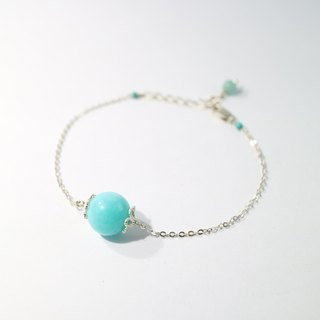 [ColorDay] Milky Way Silver Bracelet <Amazonite Bracelet>