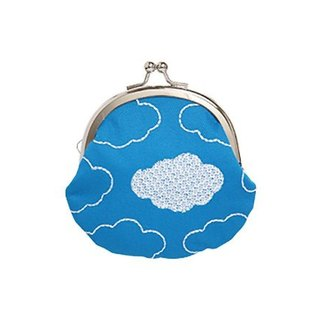 [Jingdong all KYO-TO-TO] green rain シ an have zu blue sky (blue sky ku mo) Purse