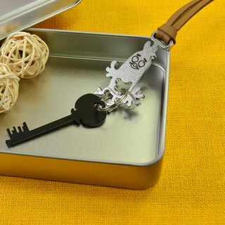 【Desk + 1】 12 zodiac key ring strap - chicken