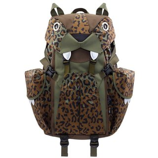 Morn Creations genuine computer backpack cute tiger - leopard (BC-320-LC)
