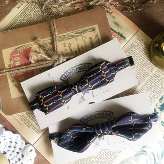 Papa's Bow Tie Antique Cloth Tie Tie Handmade Bow Tie - Venus-Venus-silm Narrow Edition