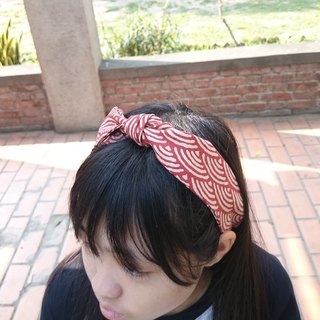Ripple French bandage elastic band hairband*SK*