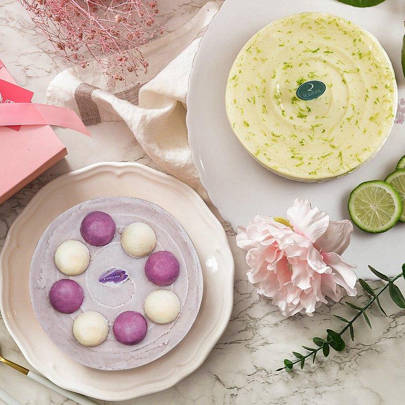 母親節蛋糕-限時優惠組合|清檸重乳酪(六吋)+芋見重乳酪(六吋)