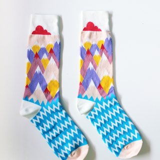 ▲ ▲ COMME MOI stores Bigfoot socks socks paternity
