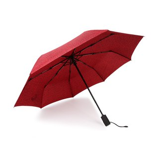 [German Kobold Cool Pod] Amazon anti-UV water repellent - Business Umbrella - Full Automatic Umbrella - Red