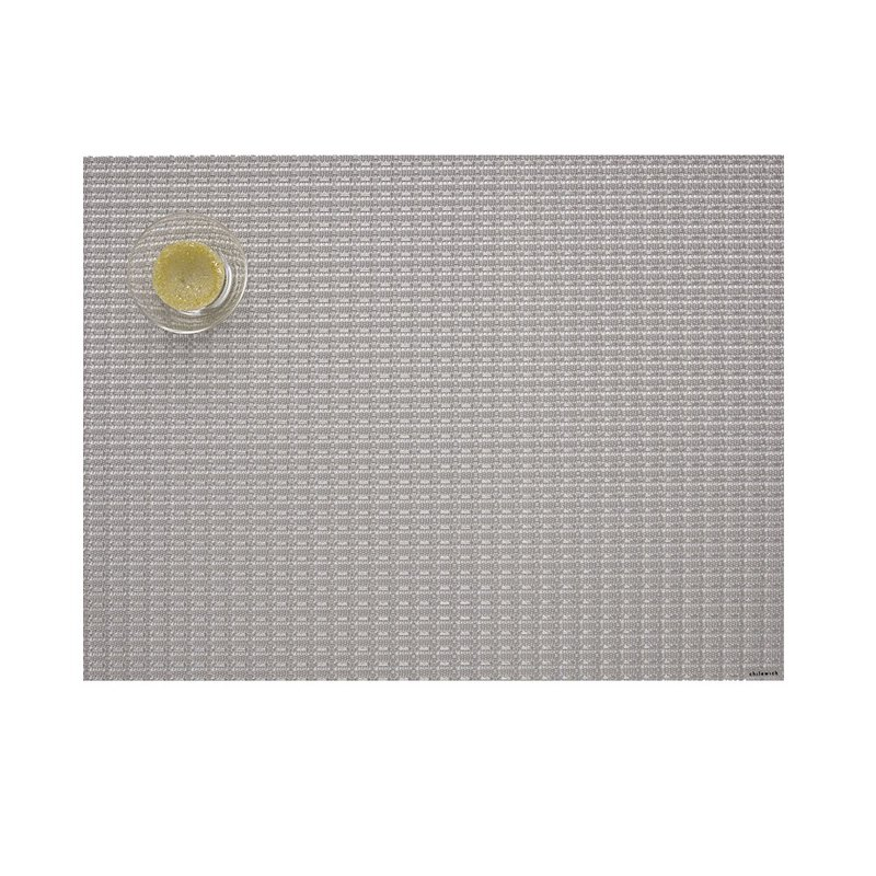 TERLLIS RECTANGLE PLACEMAT IN SILVER