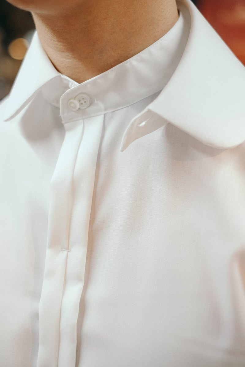 HIATUS removable collar shirt gentleman single product