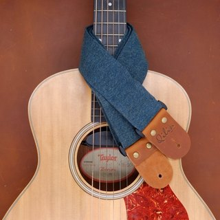 Deep Blue Denim Guitar Strap