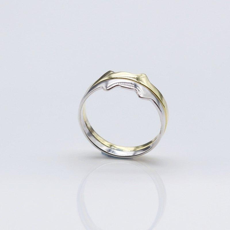 貓的皇冠 戒指 純銀 (銀)