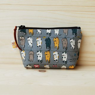 Sun cat small storage bag _ gray