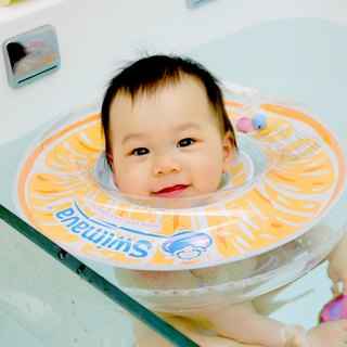 Swimava ─ G1 Fresh Orange Baby Swimming Collar
