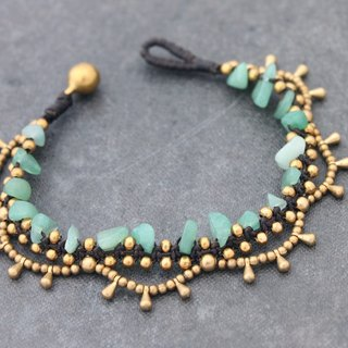 Chandelier Jade Bracelets Woven Braided Lace Gypsy