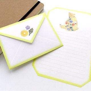 Letter writing set/stitch zoo/Bear