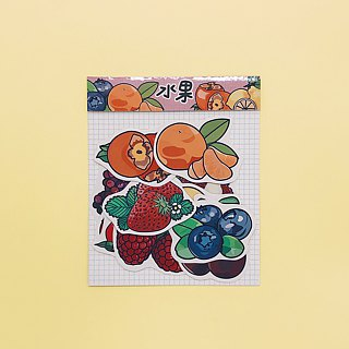 Together to eat fruit / stickers
