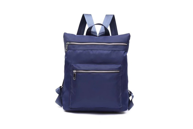 Leisure / Campus / Backpack / Shoulderbag Couple Bag Seven Colors Available-Blue