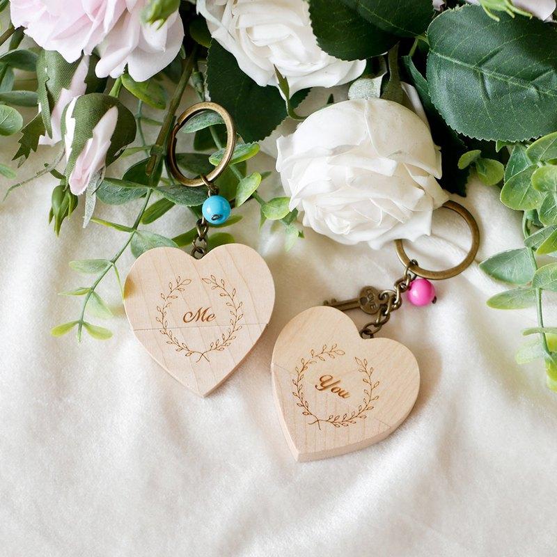【小盒子】愛心USB鑰匙圈 /情人節/文創/客製化/隨身碟/畢業禮物