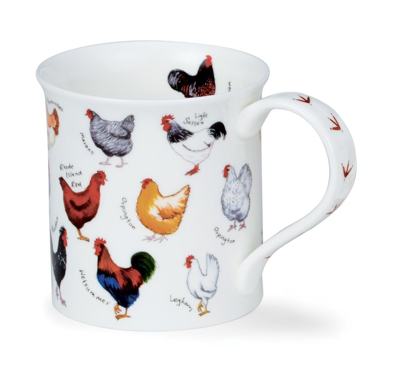 Animal illustration mug - cock