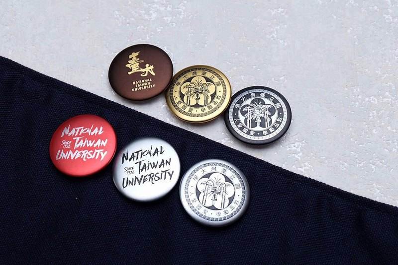 Taiwan University badge NTU BADGE 2019 S/S