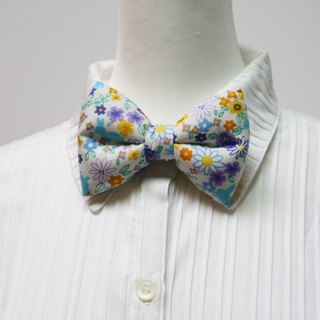 Flower flower handmade three-dimensional bow tie bow tie*SK*