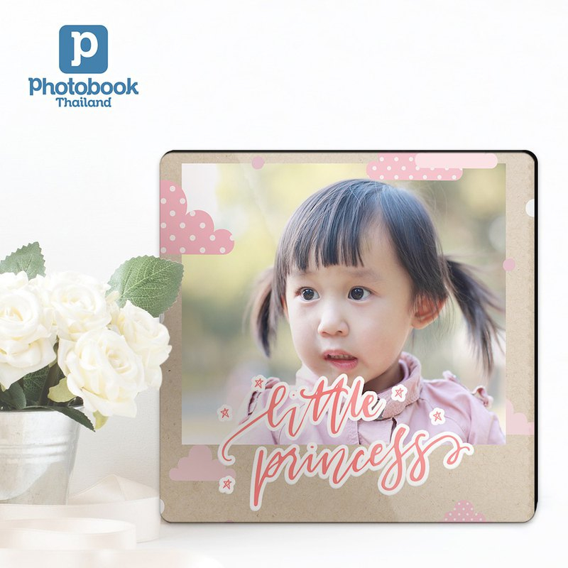 "Photobook Thailand 6"" x 6"" Desktop Plaque"