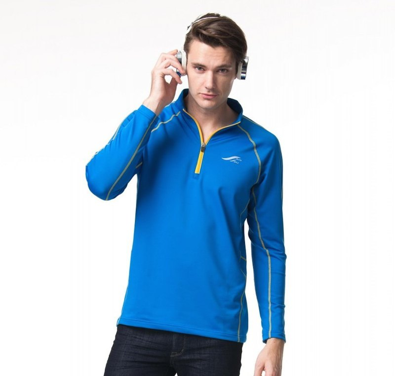 MIT Long Sleeve Stand Collar Sweatshirt