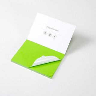 /Tesla Amazing/ Magnetic Notes S-Size green