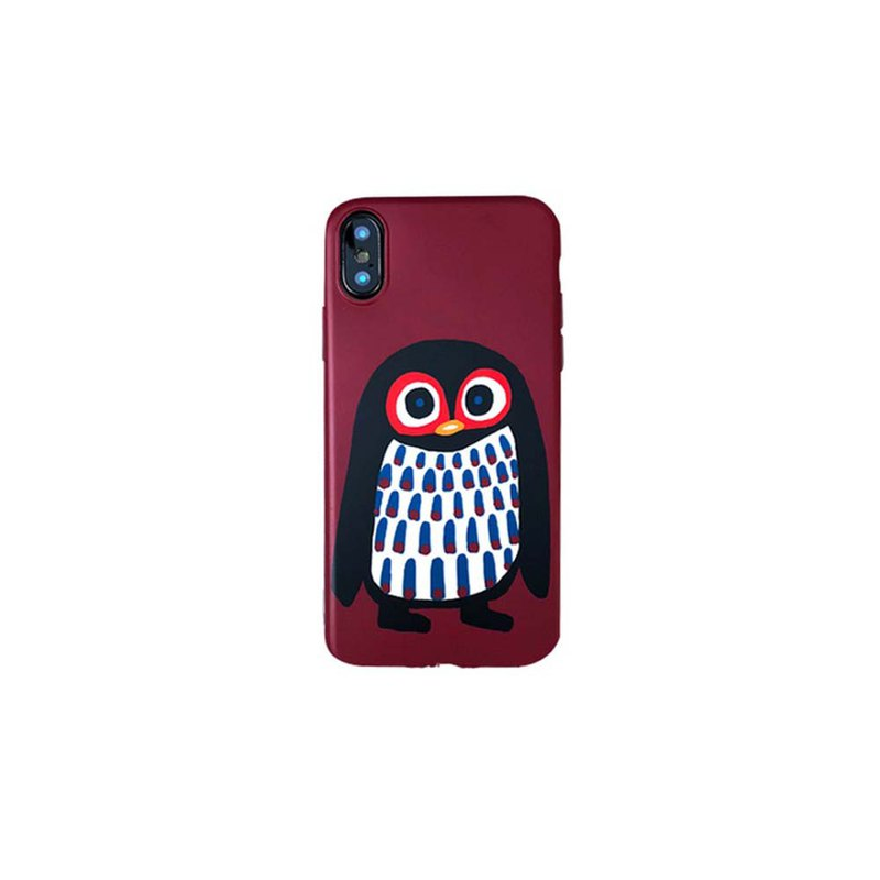 [draft / ciaogao] original design Nordic style iphone 6/7/8p soft shell cute animal penguin
