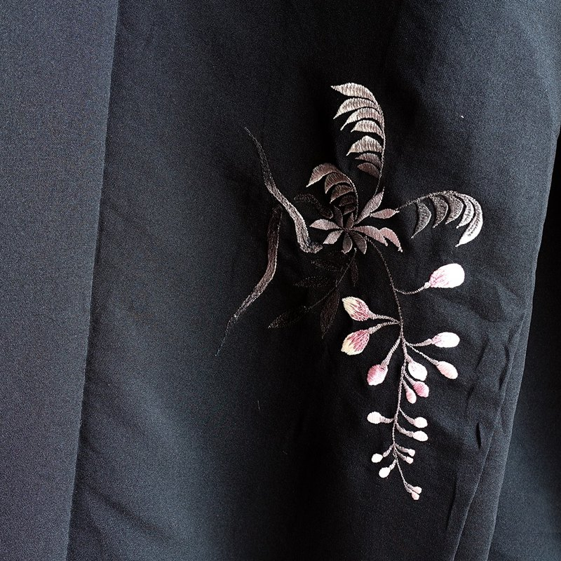 │Slowly │ Japanese antique - light kimono long version of the jacket O7. │ ancient. Vintage. Retro.