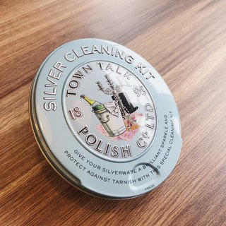British silverware care products | silverware maintenance collection tin box