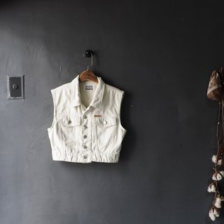 Elm white short version Qinglan love weekend amusement park antique Daning quite version vest vintage vest
