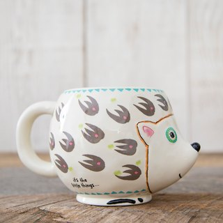 Styling Mug - Hedgehog 16oz ∣ MUG215