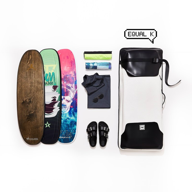 Flowboard bag for 3-4 boards