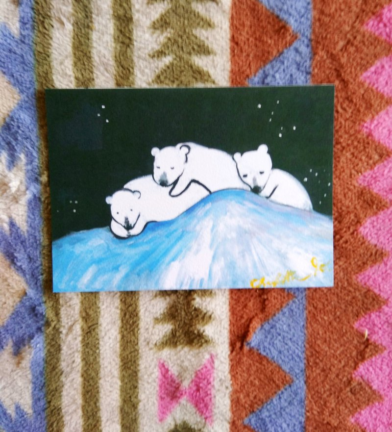 [Animal] Series - Polar Bears _ Postcards _ Cards