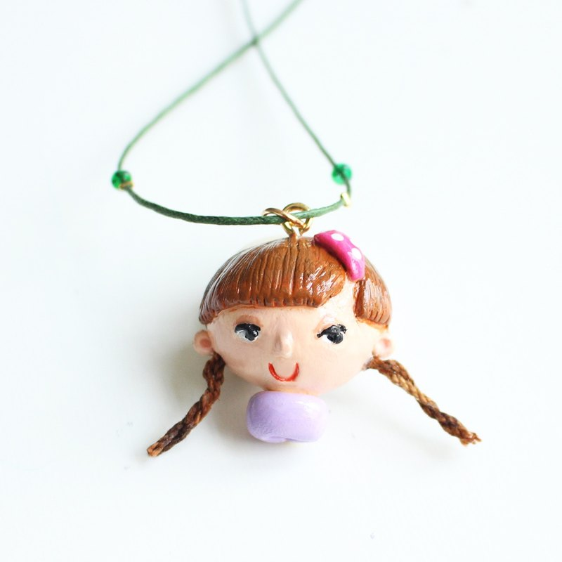 Beauty purple - Lena necklace