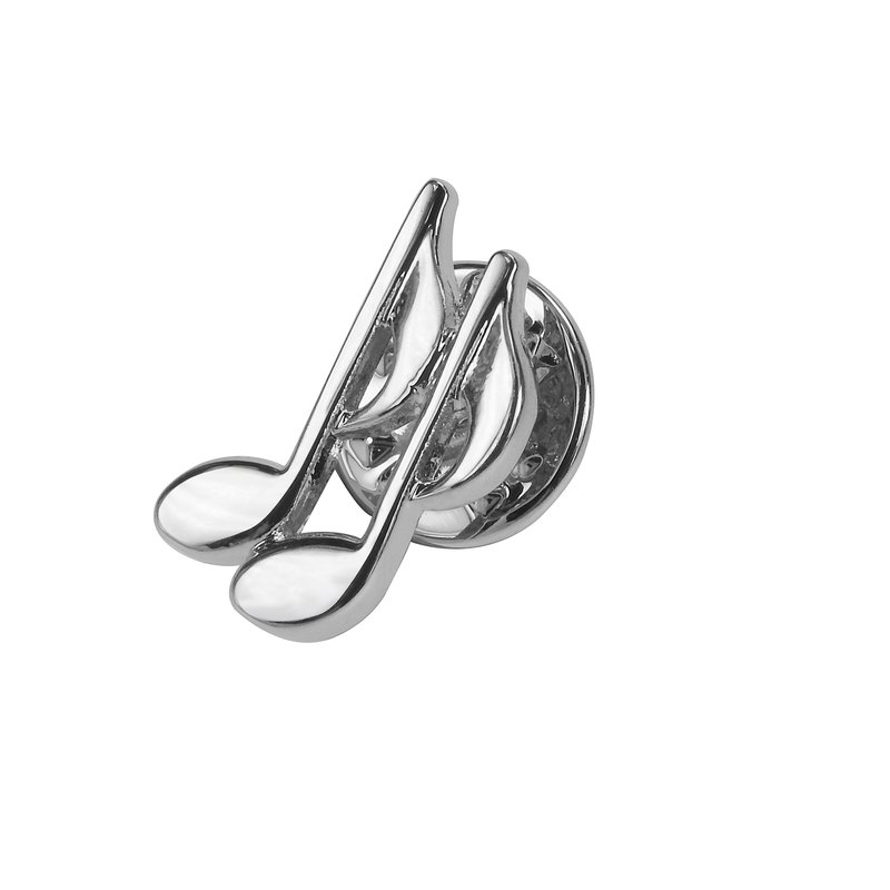 Musical Bass Clef Lapel Pins