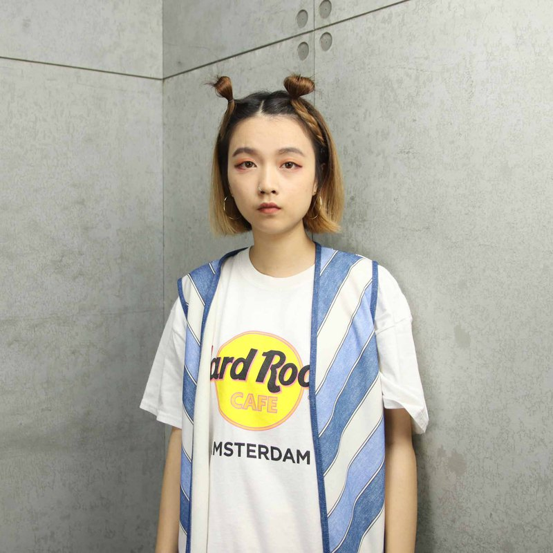 Tsubasa.Y Antique House 009 Hard Rock White LogoTee, vintage T T-shirt T-shirt