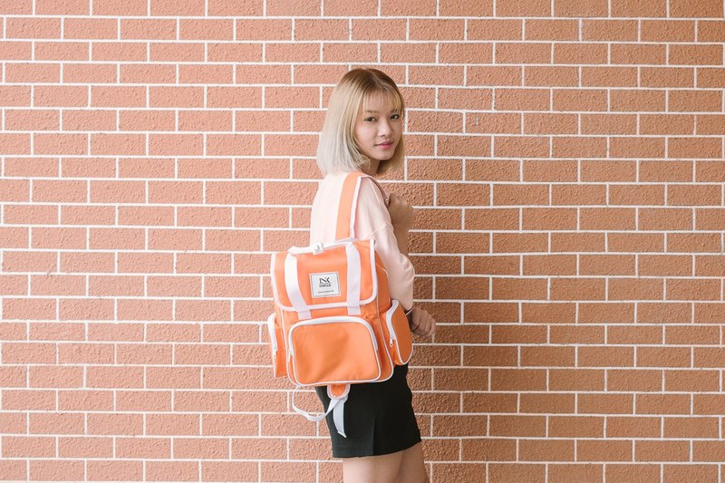 MINI BACKPACK / ORANGE