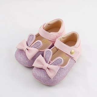 Bunny Jumping Baby Shoes - Shine Powder