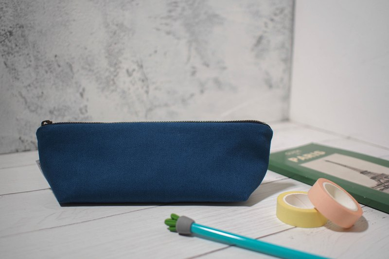 Daily series pencil case/pencil box/limited manual bag/boat length/pre-order