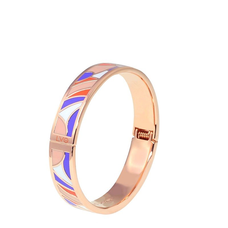 LVG Legend Vogue Fancy Fragrance Folded Enamel Series Bracelet (Rose Gold) -41307151278