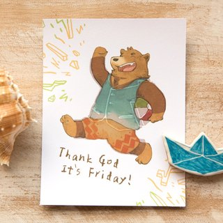 TGIF! Temperature Sense Post Card - by Koopa