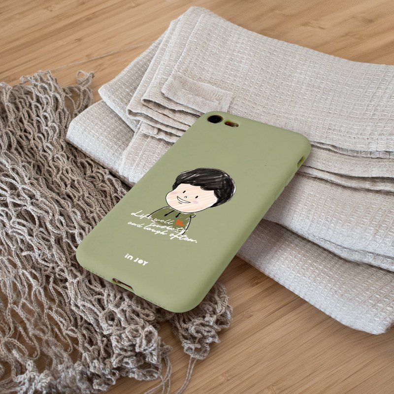Humorous Life –Alan phone Cover Silicon iPhone Case  for 6,7/8,Plus,X,XS,XR,max