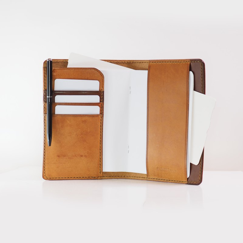 Original Passport Holder - Rust
