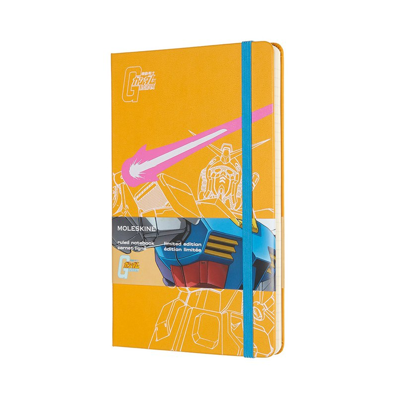 MOLESKINE Steel Bullet Limited Notebook - Horizontal Yellow