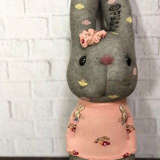 Little rabbit 05 socks doll / current product supply / Martin hand-made