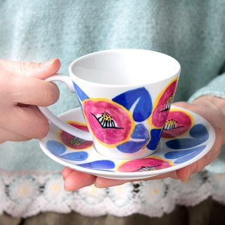 Smile Camellia (Rose Pink) Cup & Saucer