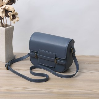 Genuine Cowhide Leather Handmade  Shoulder Bag