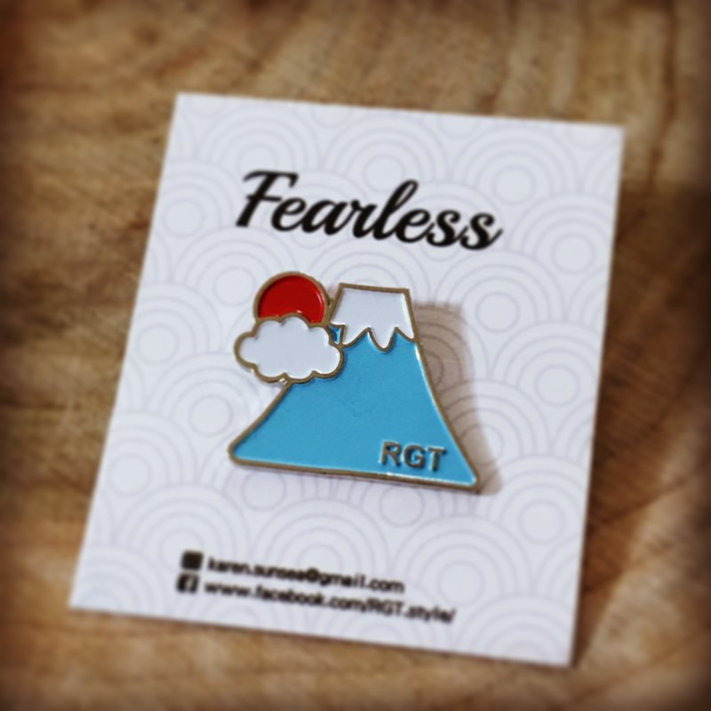 | •R• | New | Mount Fuji | Metal badge / pin / pin / badge