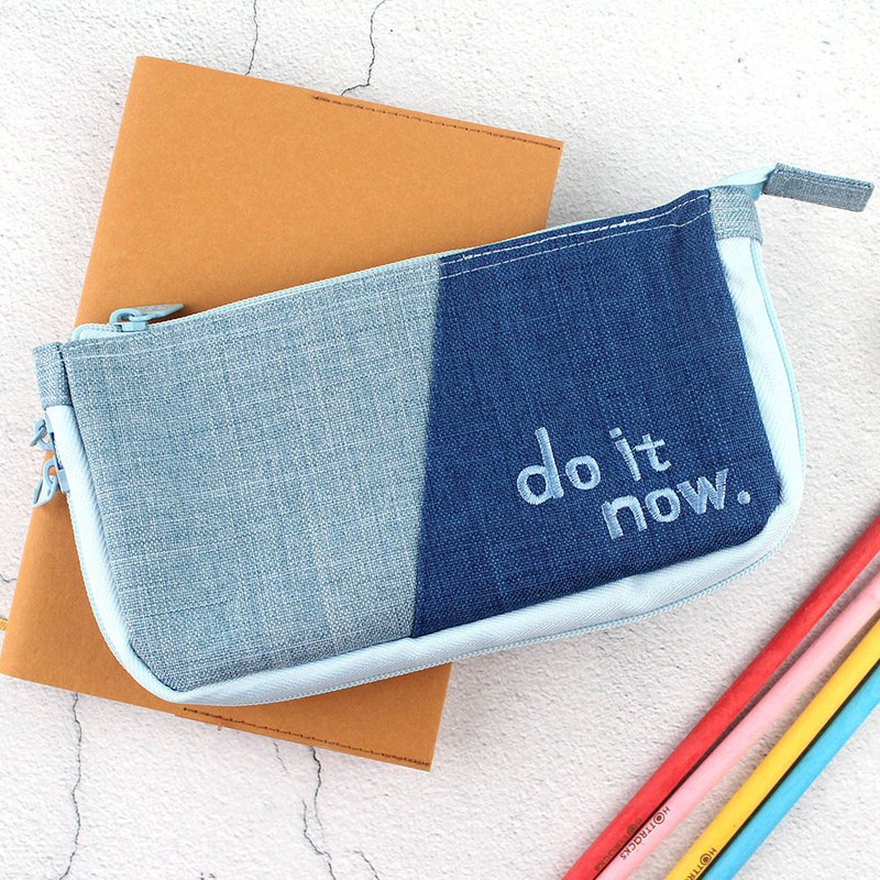 Bottom can be widened pencil bag / stationery storage bag / pencil case - do it now