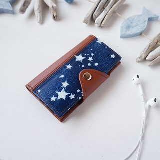 Star Pattern iPhone Case Navy
